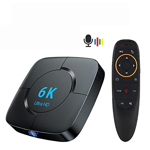 RONGXI Caja de Android TV de Las multimedias, Android 10.0...