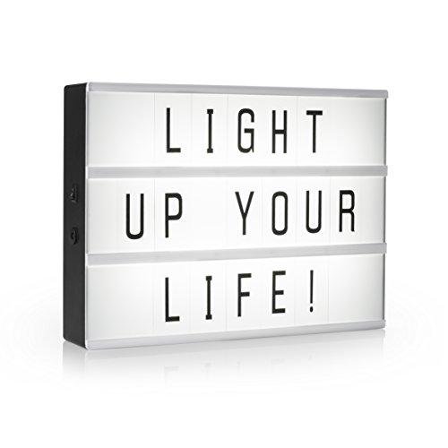 Deko Leuchte Light Box Netzteil Cinema Leuchtkasten Lampe