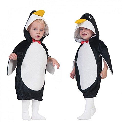 Funny Fashion Niños Disfraz Pingüino PIM (Talla 104–140Mono Animal Disfraz para Disfraces Infantiles