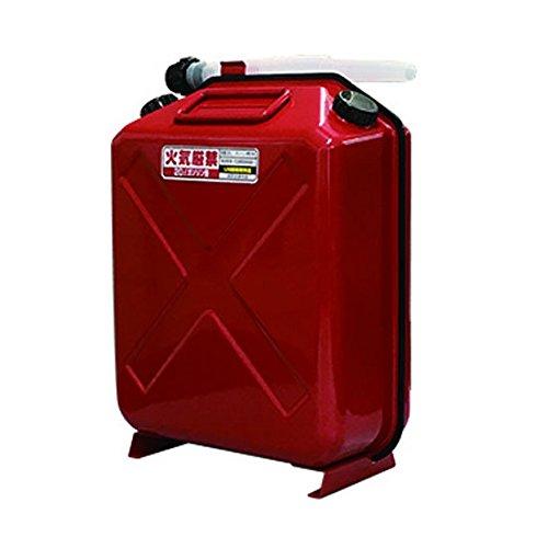【X-EUROPE/岡田商事】ガソリン携行缶 20L縦型 TT-20 ガソリン 携行缶 ボートアイテム