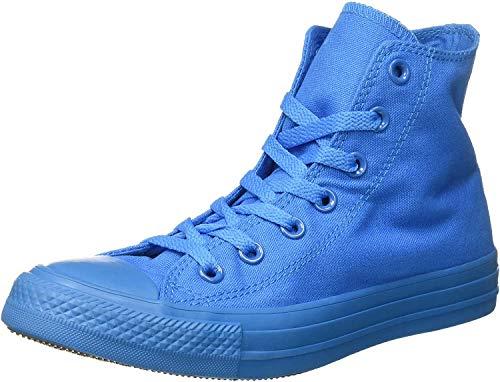 Converse Unisex-Erwachsene All Star Hi Monochrome Hightop Sneaker, Royalblau, 36 EU