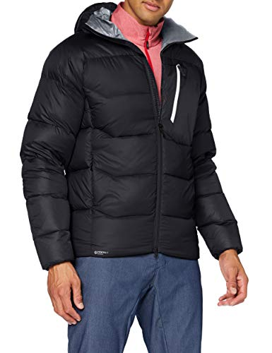 MILLET Abrasion Belay Hoodie M Insulated Jacket, Black - Noir, Mens