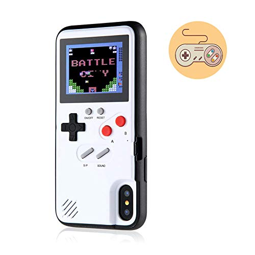 Retro Game Case for iPhone 11 Pro Max, Gameboy Case with 36 Small Games for iPhone 11 Pro Max