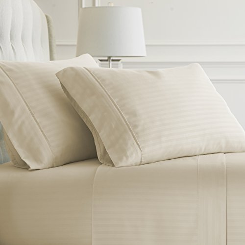 Simply Soft Bed Sheet Set, Cream, Queen