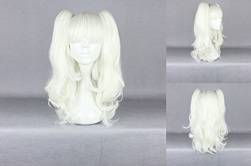 Ladieshair Cosplay Perücke weiss blond 50cm Lolita