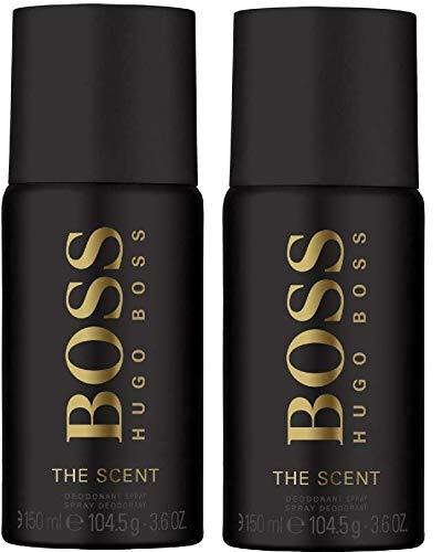 Hugo Boss The Scent Deodorant Herren Spray, 150 ml 2er Pack