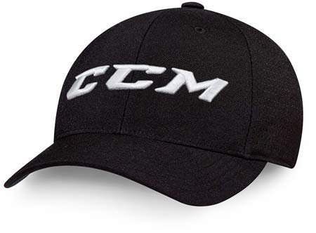 CCM Kappe Team Flexfit Cap, Rot, L/XL