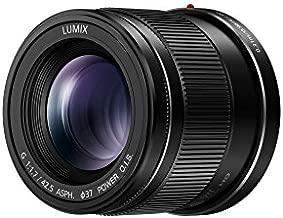 Panasonic LUMIX G LENS, 42.5MM, F1.7 ASPH., MIRRORLESS MICRO FOUR THIRDS, POWER OPTICAL I.S., H-HS043K (USA BLACK)