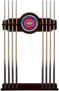 Holland Bar Stool Co. Montreal Canadiens Cue Rack in English Tudor Finish