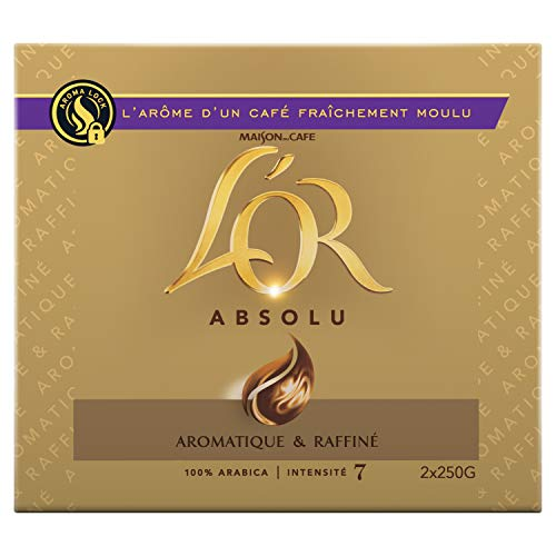 LOr Absolu Café Moulu 500g