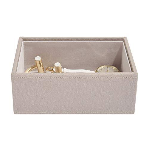 Stackers Taupe Schmuckschatulle Mini Schmuckfach für Uhren/Accessoires