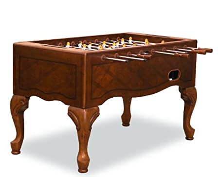 "Best Foosball Table Under $1000- Fairview Game Rooms 55"" Furniture Style Foosball Table with Queen Anne Legs"