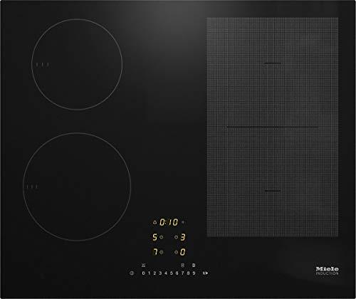 Miele KM 7464 FL - Placa de inducción (62 cm), color negro
