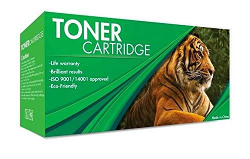 Tigre Cartucho de Toner Genérico 17A Color Negro, Compatible con Impresoras HP Laserjet Pro M102W / MFP MF130FW (Nuevo, 1 Pieza)