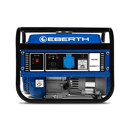 EBERTH Groupe Électrogène 3CV / 2,2kW de puissance