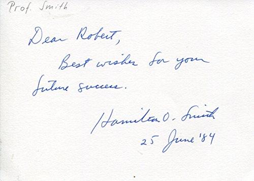 Hamilton Othanel Smith original Autogramm/Autograph/signiert