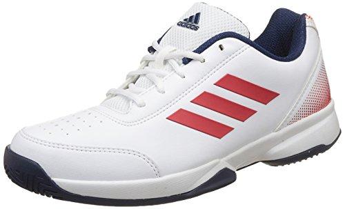 Adidas Men's Racquettes White/Corred/Mysblu Tennis Shoes - 6 UK/India (39.33 EU)