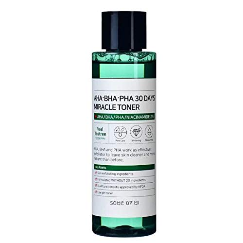 SOME-BY-MI AHA BHA PHA 30 Days Miracle Toner 150ml Niacinamide 2% Real Tea tree Extracts 10000ppm