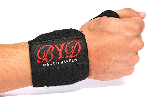 Beyond Dreams Bandagen + kostenlose Lieferung | Handgelenkbandage | Handgelenkstütze | Handgelenkschoner | Bandagen für Bodybuilding + Fitness + Crossfit - 6