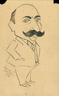 Enrico Caruso - Caricature Signed 1908