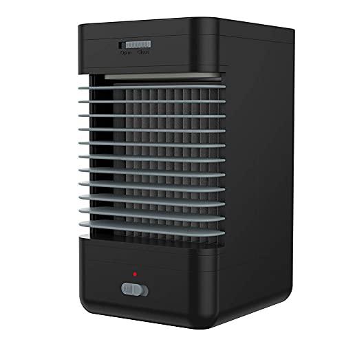 SALUTUY Aire Acondicionado, Amplia Gama De Aplicaciones Mini Ventilador Humidificador para Una Experiencia De Verano Fresca