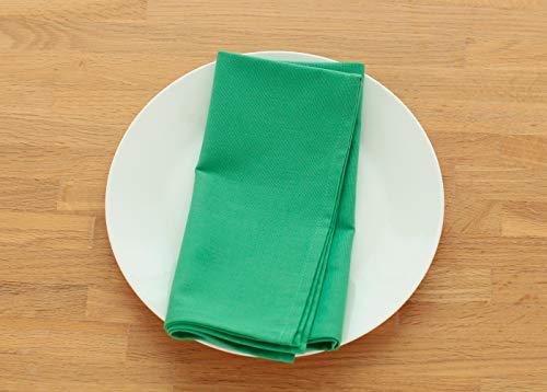 テーブルナプキン ブルーミング中西 デリシャスカラー (日本製) 布 正方形 無地 [全30色] ナフキン パセリ (緑) 50×50cm 76