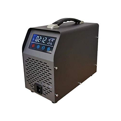 MOSHANG Desodorante del purificador de Aire del generador de ozono, con un Temporizador de 600 MG/h, para Agua, Verduras, Frutas, etc. (Color : 10g/H)