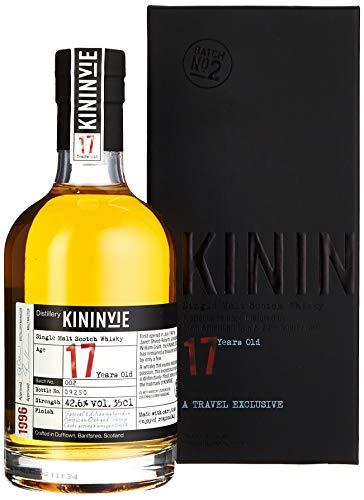 Kininvie 17 Years Old 1996 Batch No. 1 Whisky mit Geschenkverpackung (1 x 0.35 l)