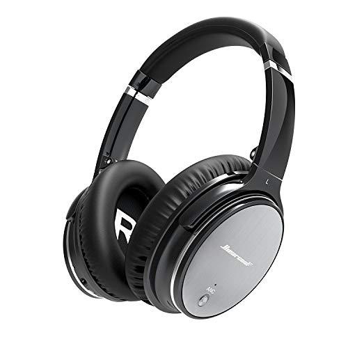 Bluetooth draadloze koptelefoon | Ruisonderdrukking | Hiearcool | HiFi Stereo | Over-Ear | Voor alle apparaten met Bluetooth of 3,5 mm jackplug