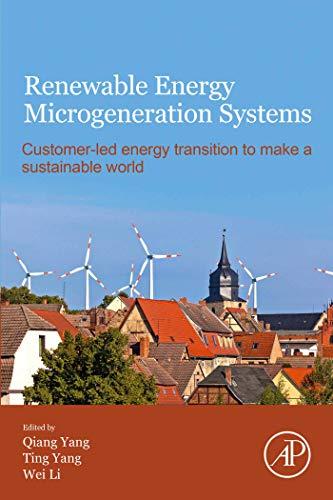 Renewable Energy Microgeneration Systems: Customer-led...