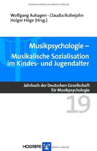 Musikpsychologie (Jahrbuch der Deutschen Gesellschaft für Musikpsychologie)