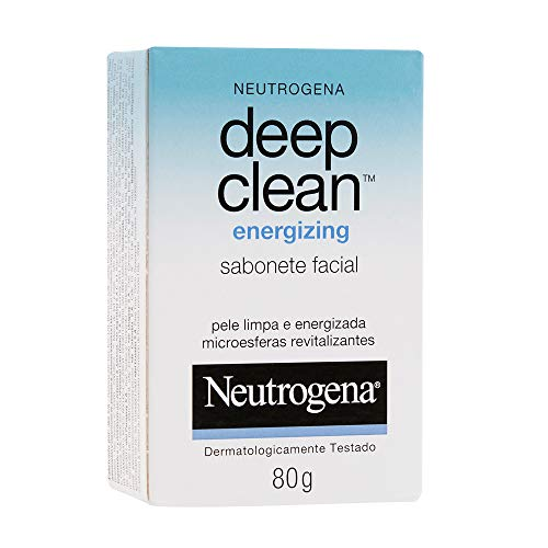 Sabonete Facial Deep Clean Energizing, Neutrogena, 80g