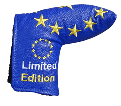 Team Europe Limited Edition Blue Blade European Golf Putter Cover ideal for...