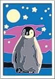 Ravensburger Pintura por números, 28775, diseño de pingüino, Color Blanco