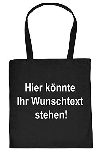 Stofftasche selbst gestalten! Einkaufstasche, Tragetasche mit persönlichen Text, Gruß, Namen oder Spruch! Ganz einfach bestellen!