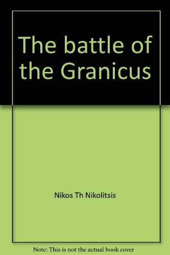 The battle of the Granicus (Skrifter utgivna av Svenska institutet i Athen)