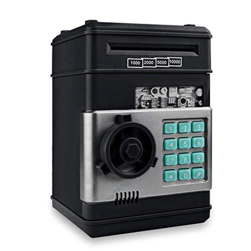 Hucha electrónica de 7.5', Caja de Ahorro de Monedas en Efectivo Caja de Seguridad del Banco del cajero automático, Caja de Dinero con contraseña de Mini cajero automático, Regalos de cumpl
