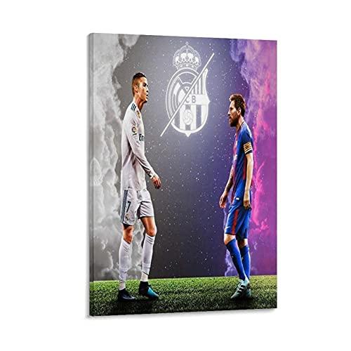 GTDF 2 lienzos artísticos con diseño de Emperor de baloncesto, impresión artística moderna para habitación familiar, póster de 20 x 30 cm