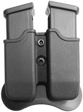 CYTAC Magazine Pouch Double Recommendation Polymer Fits 26 Store 22 Glock 19 17 23