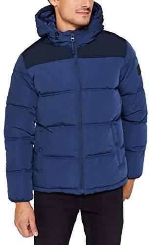 ESPRIT Herren 119EE2G002 Jacke, Blau (Blue 430), Medium (Herstellergröße: M)