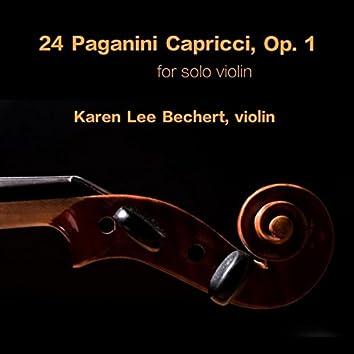 24 Capricci by Niccolò Paganini, Karen Lee, Violin