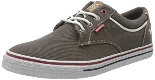 MUSTANG Herren 4147-303-20 Sneaker, Grau (Dunkelgrau 20), 45 EU