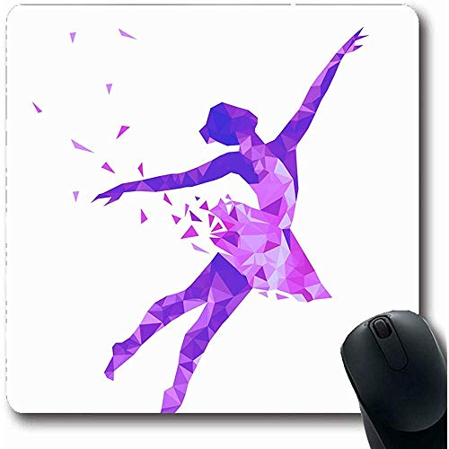 Tappetino con el ratón 39 Pennello da scrittura Segui il tuo Cuore Amore fatto a Mano Creativo Emozione Grafica Tappetino da gioco antiscivolo Tappetino in Gomma 25X30CM
