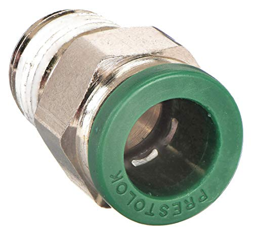 4 mm and 1//4 Tube to Pipe Push-to-Connect and BSPT Double Y Connector Nylon Glass Reinforced 6.6 4 mm and 1//4 Parker W368PLPD-4M-4R-pk5 Composite Push-to-Connect Fitting Pack of 5