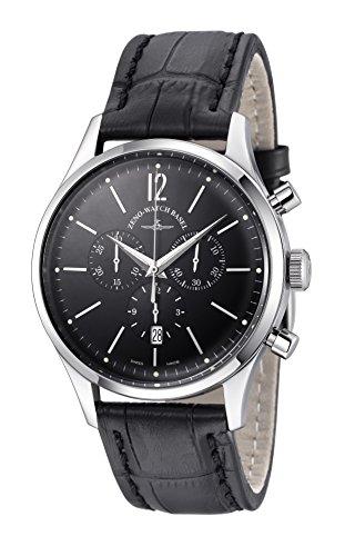 Zeno Reloj Analógico para Hombre de Cuarzo con Correa en Piel 6564-5030Q-I1