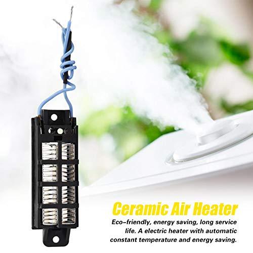Termostato estándar de temperatura constante 100W 220V PTC Calentador de aire de cerámica para máquina de cortina de aire y humidificador para aire acondicionado para electrodomésticos
