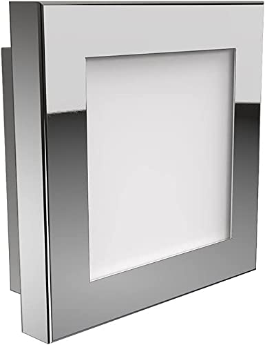 high quality Blackjack online discount Lighting Quadra Polished Chrome Six-Inch LED Flush Mount outlet online sale