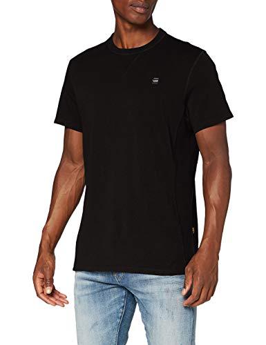 G-STAR RAW Premium Core T-Shirt, Dk Nero C336-6484, XS Uomo
