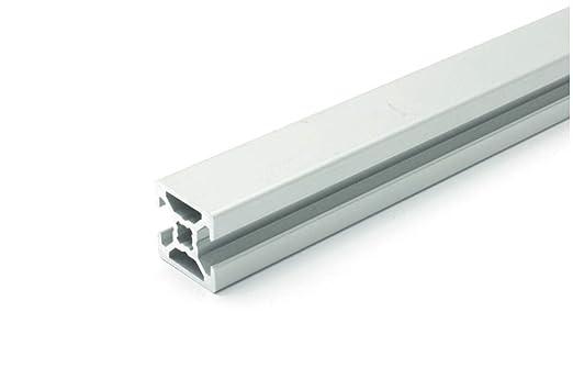 2000/mm Profilo in alluminio 20/x 20/tipo B scanalatura 6/ /Taglio 50/