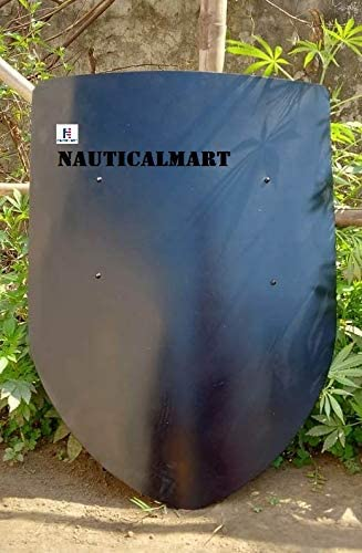Blank Medieval Shield - Custom New Online limited product Free Shipping Natural One Gauge 18 Steel